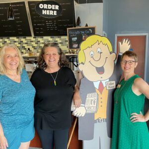 Three Generations of Coffee News Owners at Cups Flowood, Mississippi